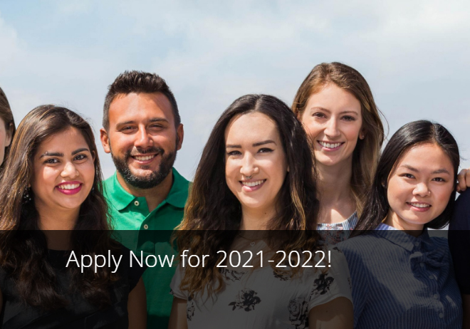 Applications Open for Academic Year 2021-2022